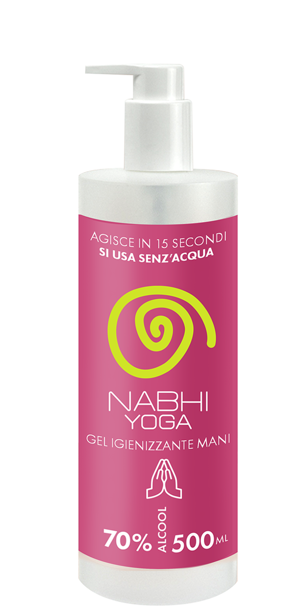 Nabhi Yoga gel igienizzante mani 500ml